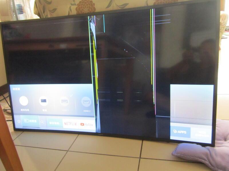 三星UA55K6300AW黃金曲面螢幕