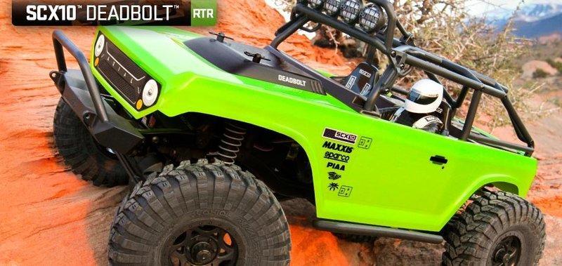 港都RC Axial SCX10 Deadbolt 電動攀岩車 RTR版(AX90044)