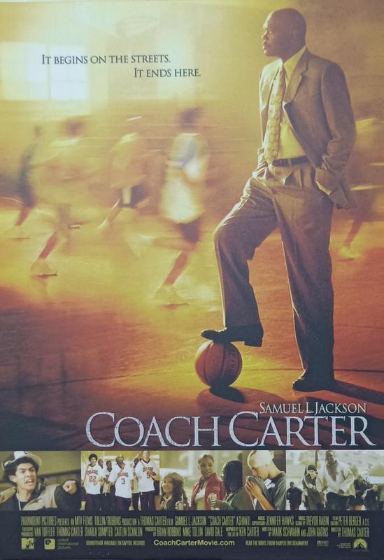 C電影酷卡明信片 卡特教頭 Coach Carter 山繆傑克森