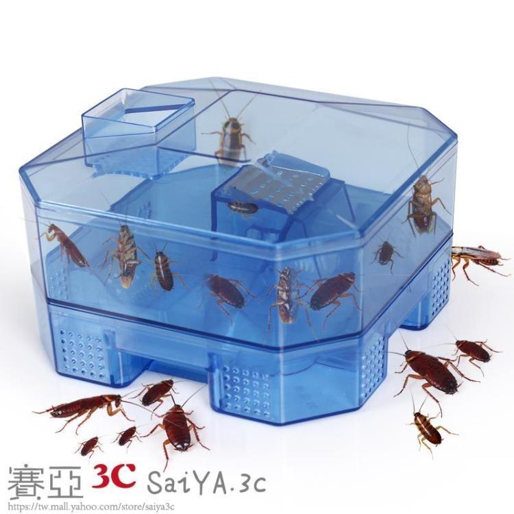 蟑螂捕捉器誘捕器盒殺蟑螂