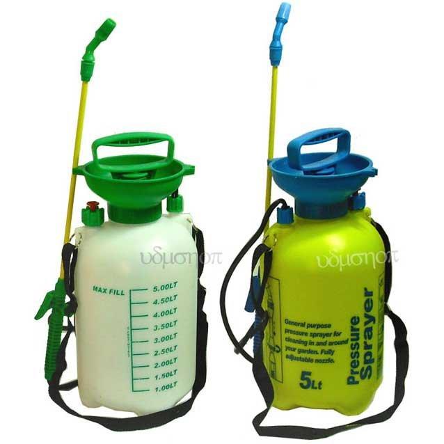 5公升噴霧器 噴水器 5L噴霧桶 有打氣桶加壓裝置/噴農藥桶 澆花.噴消毒液 灑水器 噴清潔劑 澆水器*15868*