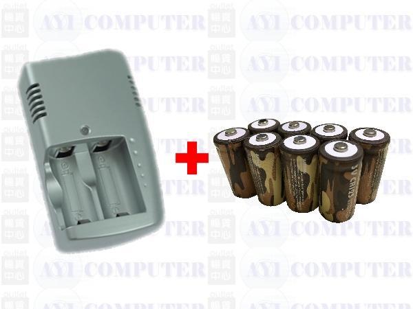 送 NETGEAR ARLO VMS3230 VMC3030 充電電池組 8顆 CR123A