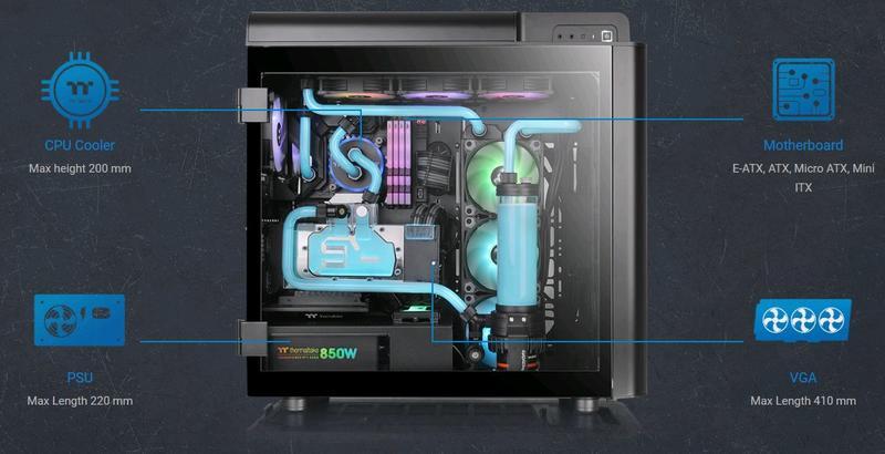 小白的生活工場*Thermaltake Level 20 GT ARGB高直立式強化玻璃機殼