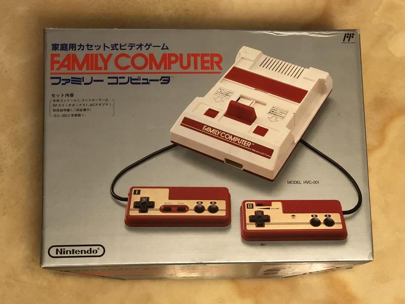 【珍華堂】Nintendo任天堂經典紅白機FC-全新未拆封-書盒配件齊全-完整一組-品相優-收藏佳品