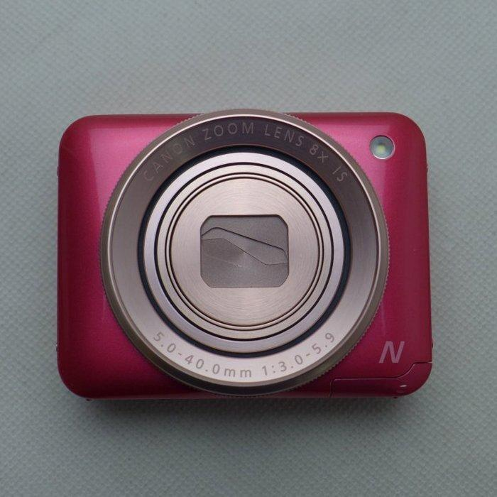 5Cgo【代購】陸版Canon數位相機粉餅機PowerShot N2(粉紅/白兩色)全方位自拍為設計概念 另有N1 含稅