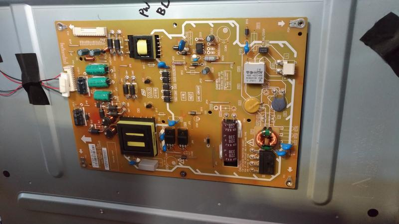 BENQ 46RV6500 液晶電視電源板B166-801 4H.B1660.101/ B1邏輯板.腳架等零件拆賣良品