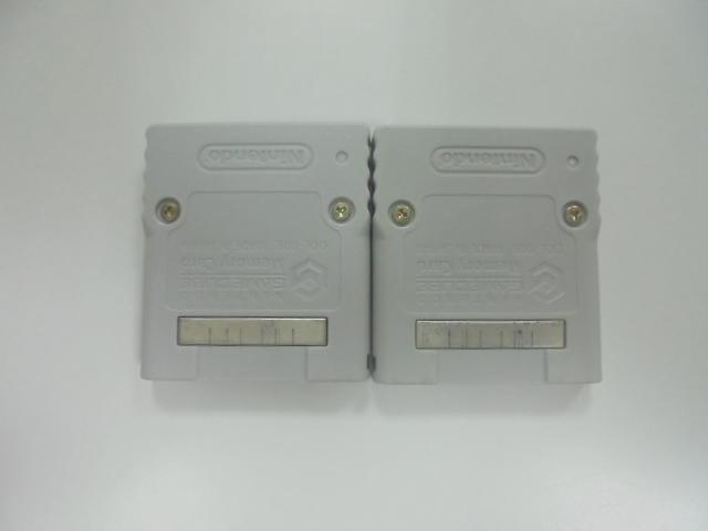 NGC 日版 記憶卡 59 2品套組(40880709)