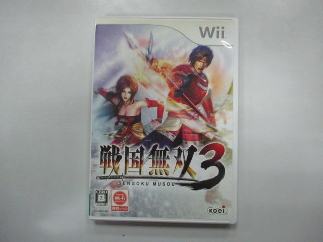 WII 日版 GAME 戰國無雙3 (41009888)