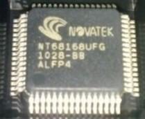 [二手拆機][含稅]NT68168UFG QFP 拆機二手液晶晶片