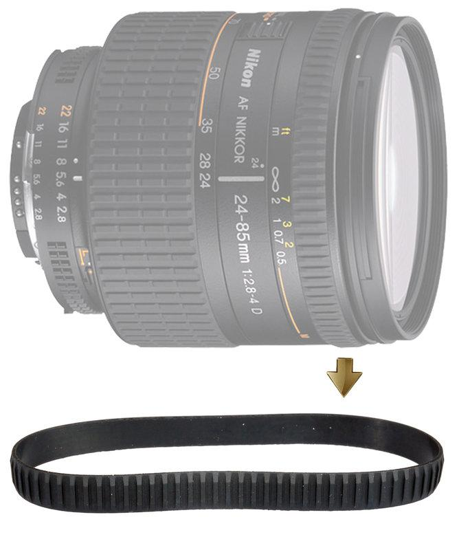 【NRC】Focus Rubber Ring for Nikon 24-85mm F2.8-4.0D 對焦環