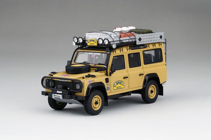TSM 1/43 Land Rover Defender 1989 Camel Trophy Winner