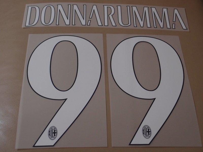 14-16 米蘭主場燙字 AC Milan 99Donaarumma