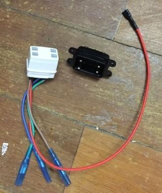 [二手拆機][含稅]拆機二手 豆漿機耦合座/上下連接器座