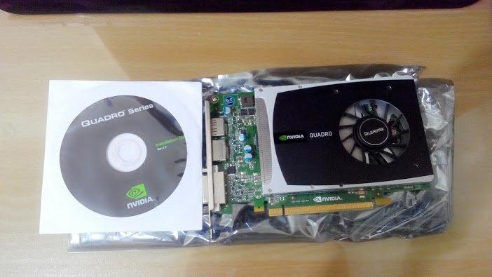 麗臺 NVIDIA Quadro 2000 1GB GDDR5 PCI-E 工作站繪圖卡
