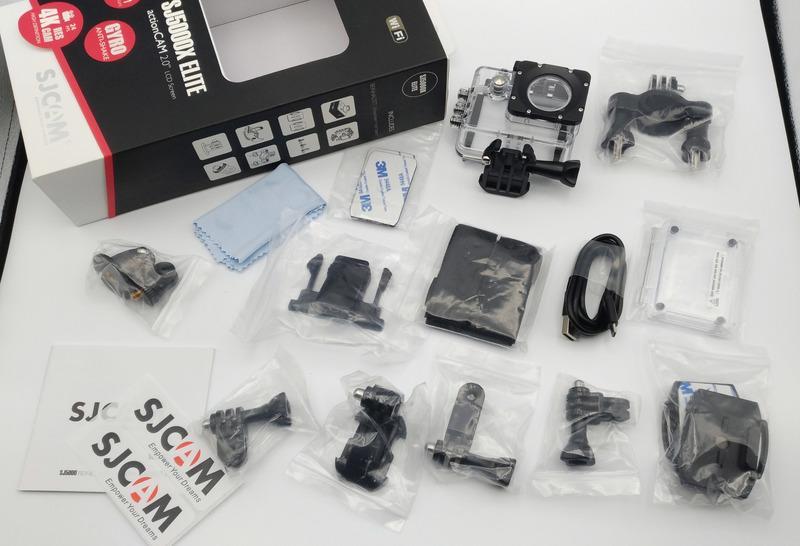 呈現攝影-SJCAM SJ5000X 原廠配件+盒子 缺鏡頭蓋/電池/背夾框 公司貨 出清