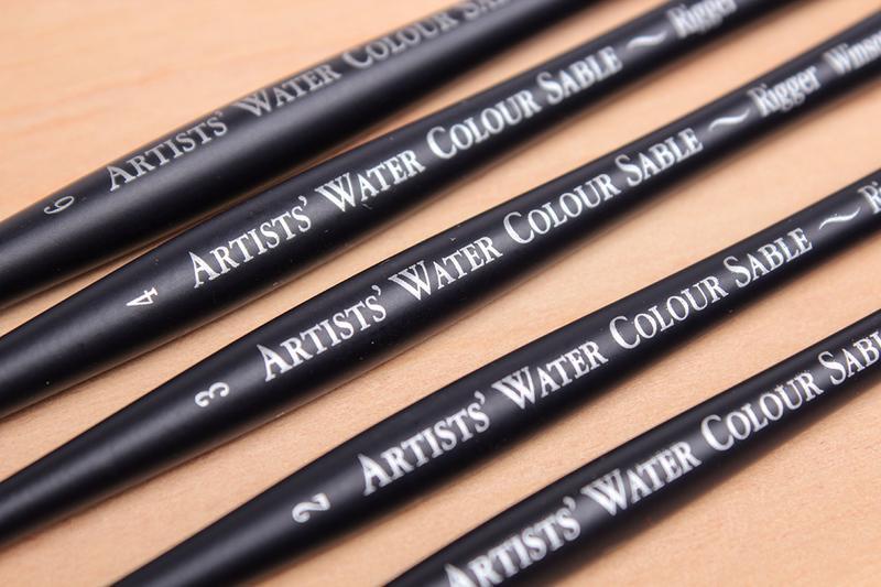 【Artshop美術用品】英國 溫莎牛頓 5069 藝術家貂毛水彩畫筆 長描頭 (圓) #5