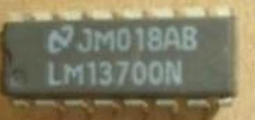 [二手拆機][含稅]原裝 LM13700N DIP直插封裝