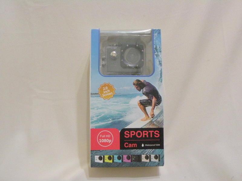 Sports Cam 1080P 防水運動型攝影機 - 黑色