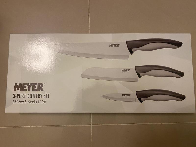 安麗 Meyer 萬用廚刀三件組 全新~