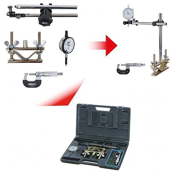KS300.06904 件套制動盤測量工具套裝