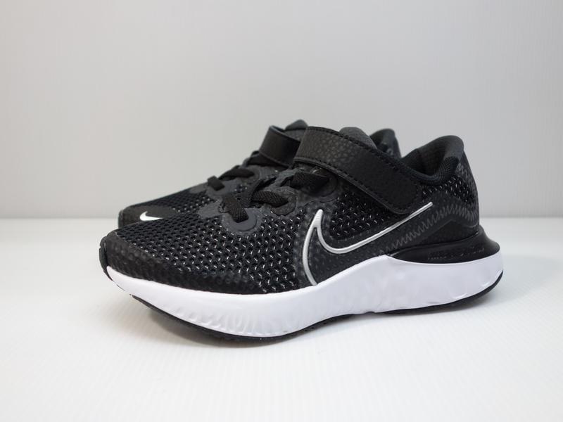 =小綿羊= NIKE RENEW RUN PSV 黑白 CT1436 091 中童 運動鞋 慢跑鞋 親子款