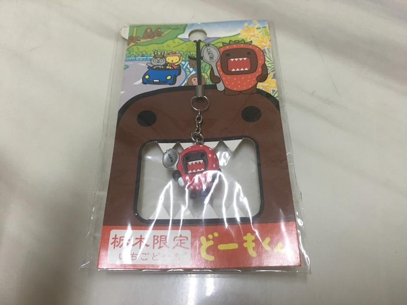 全新~~(天然小鋪)--日本來ㄉ~~ 多摩君 手機吊飾(栃木限定)!!