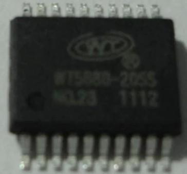 [二手拆機][含稅]WT588D-20SS 主控晶片 WT588D  品質保證