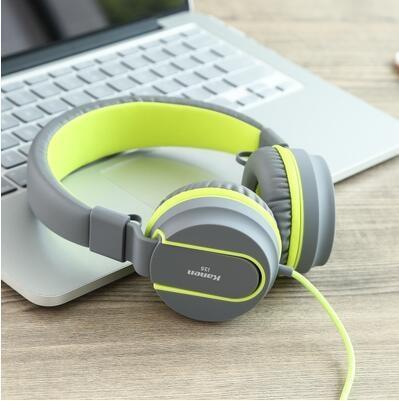 音樂耳機頭戴式耳機帶麥重低音