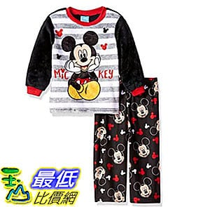 [7美國直購] 迪士尼 睡衣套裝 Disney Toddler Boys Mickey Mouse 2-Piece Fleece Pajama Set 2T