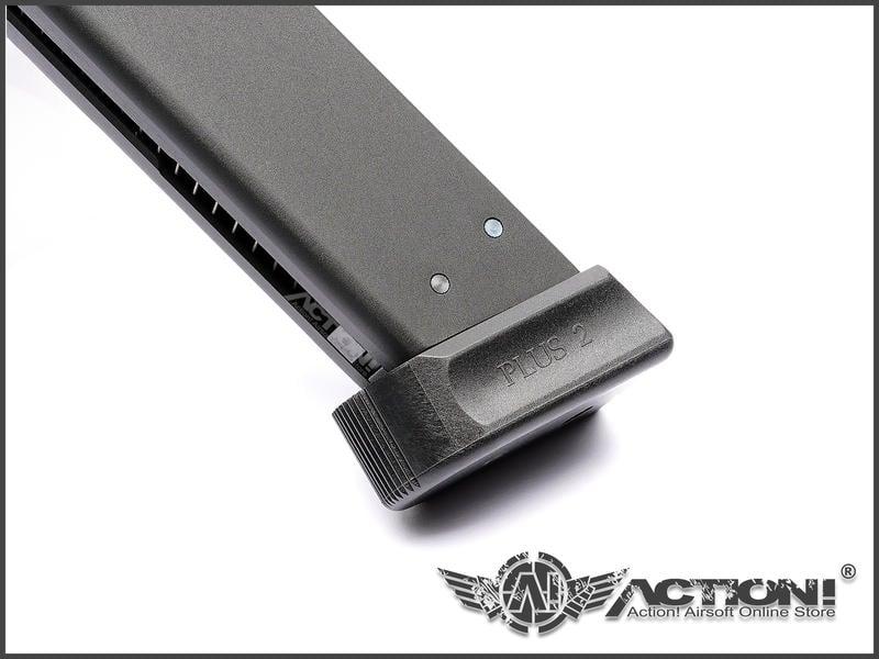 【ACTION!】KJ - CZ SHADOW2瓦斯手槍專用 授權刻印版 25發瓦斯彈匣《現貨》
