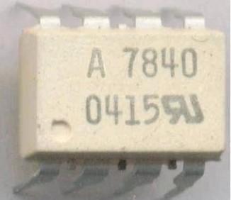 [二手拆機][含稅]A7840 HCPL-7840 【直插】  品質保證