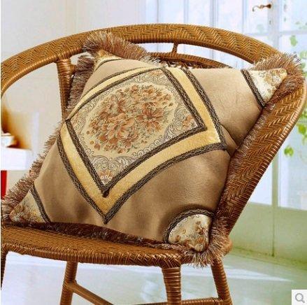 簡戀家紡 50X50抱枕 方墊 靠墊 床上用品 歐式風範 居家ZT053