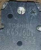 [二手拆機][含稅]TK45J60V K45J60V 原裝拆機元件