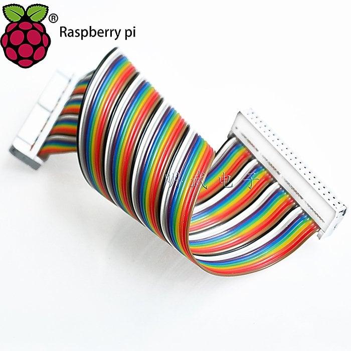 量多更便宜-相容3/2代 B型 B+ raspberry pi GPIO 40P 排線 DIY  [316857]w3-