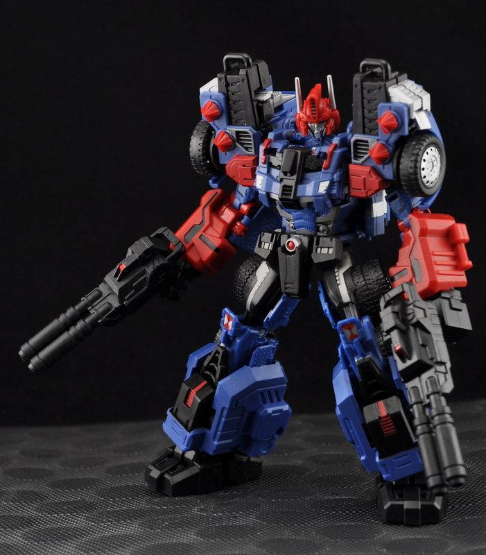 (預定) 變形金剛 Botcon Maketoys MT-02B 限定版 藍色 G2 油罐車 馬甲 全新品