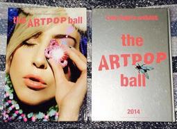 【特價清倉】Lady Gaga 女神卡卡*ARTPOP artRAVE Tour Program*流行藝術巡演場刊 硬殼