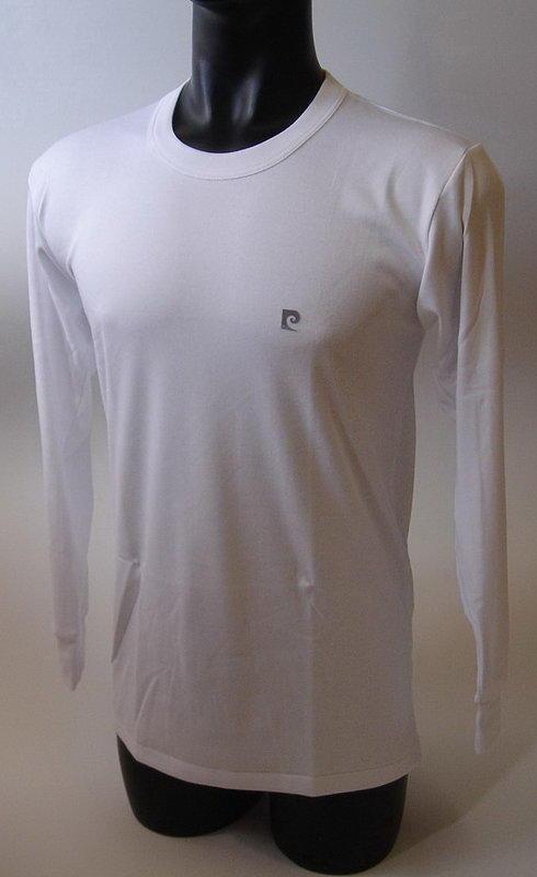 皮爾卡登pierre cardin 厚暖棉圓領長袖衫 PC1150, 保暖舒適, 特價250元, 直購四件以上免運費.