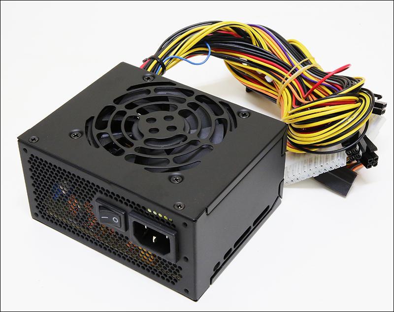 全漢 FSP SFX 450W 銅牌迷你小電源 FSP450-60GHS(85) 全日系電容 ITX主機用 全黑化外銷版