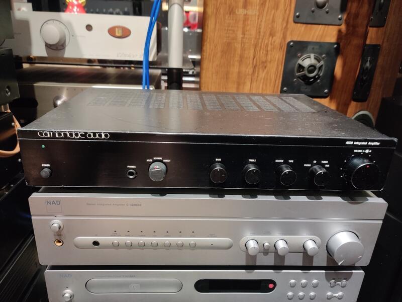 「狀況佳」英國 Cambridge Audio A500 雙聲道綜合擴大機 可前後級 有MC/MM Phono