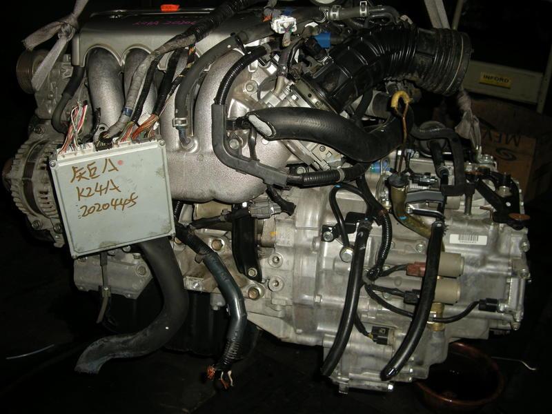 外匯進口本田K24A引擎總成和變速箱