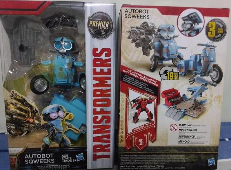 正版【變形金剛】摩托車小靈通吱吱 SQWEEKS電影5 最終騎士 Transformer AUTOBOT 機車