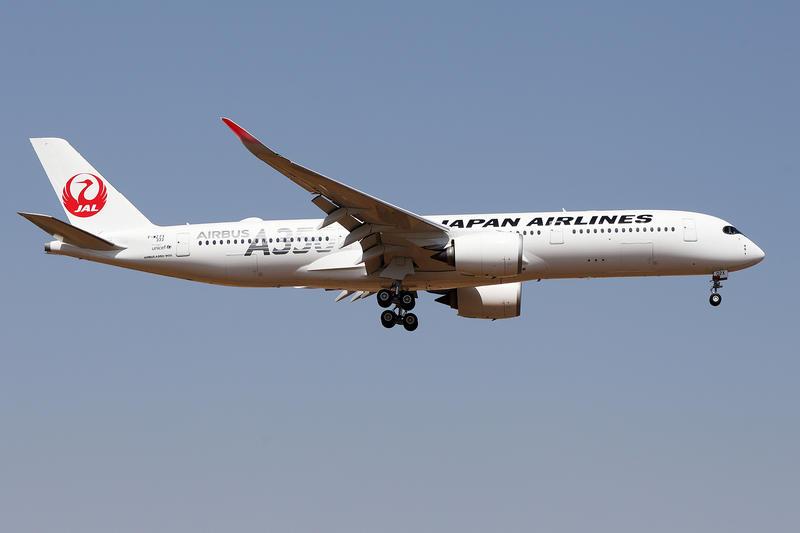 JC Wings 日本航空 Japan Airlines A350-900 Silver JA02XJ 放襟翼1:400