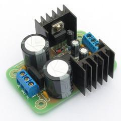 [含稅]直流濾波伺服三端穩壓電源板模組器雙5v 12V電子diy製作套件