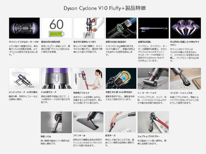 ∼清新樂活∼日本空運直送Dyson V10 Fluffy+ SV12 FFCOM無線吸塵器V11 V8參考
