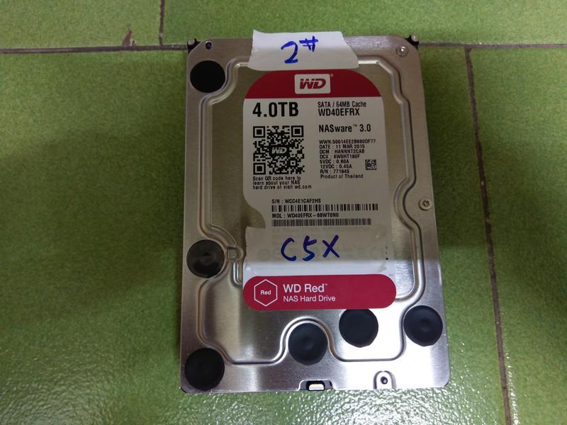 壞軌 WD 4T 紅標硬碟-2