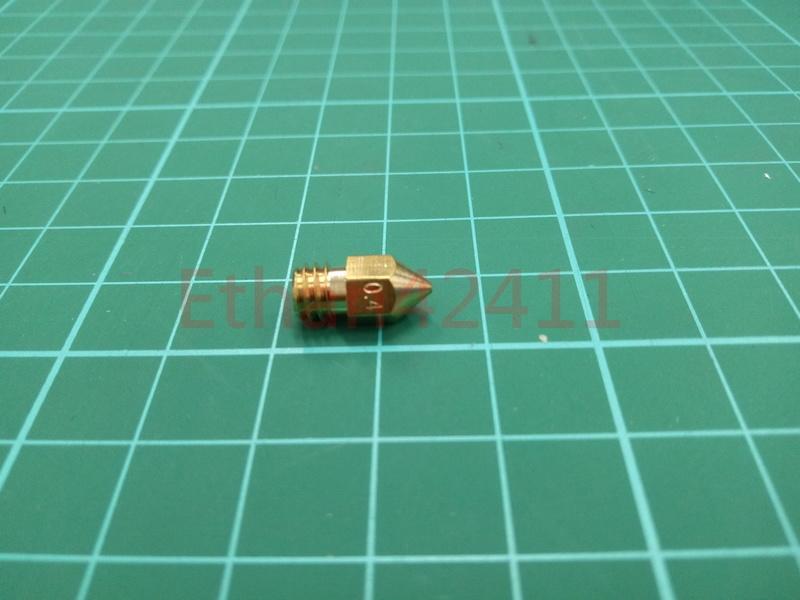 3D列印機 印表機 銅噴頭 0.4mm 1.75 MK7 MK8 Prusa i3