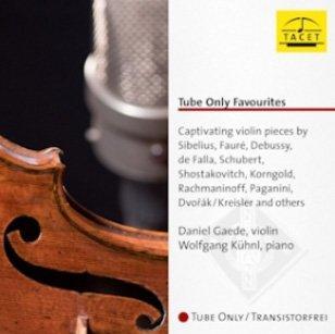 詩軒音像TACET 古董真空管愛小提琴作品集丹尼爾蓋德(小提琴) (1CD)-dp070