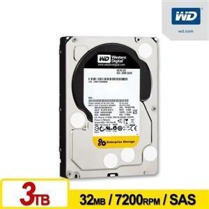 +送16G隨身碟WD3001FYYG 企業級 3TB 3.5吋SAS硬碟 3.5吋 SAS介面
