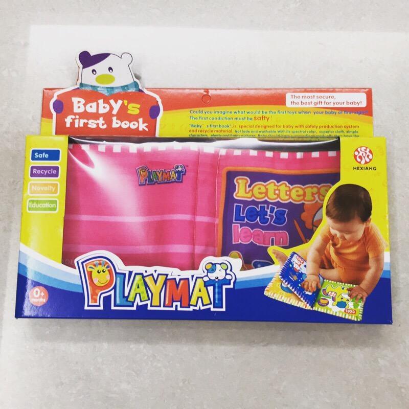 PLAYMAT親子學習英文布書 ST安全玩具 CE