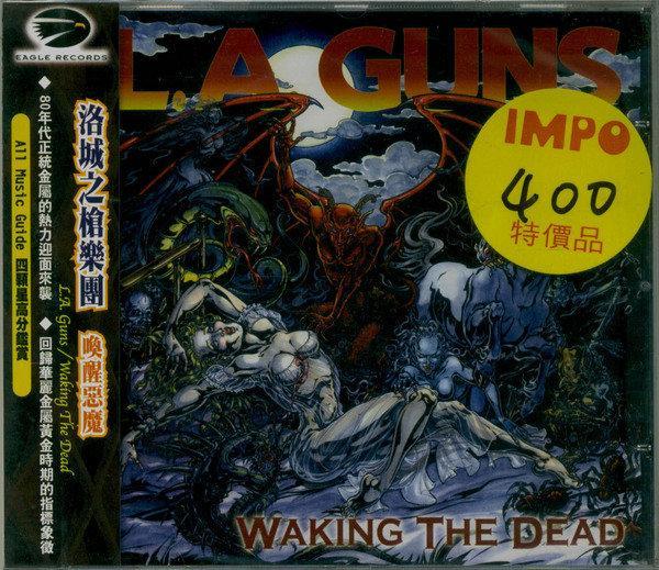 重金屬CD,【L.A. Guns】,【Waking the Dead】/全新進口代理版